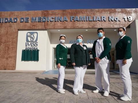IMSS inaugura unidad de medicina familiar en Agua Prieta, Sonora
