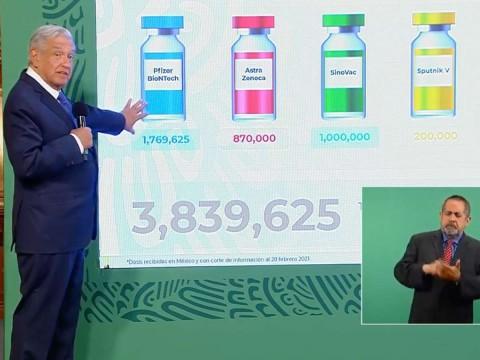 'Ya no se va a detener el Plan Nacional de Vacunación'