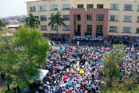 Realizan caminata de apoyo al gobernador de Tamaulipas
