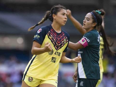 América Femenil muestra su poderío ante Puebla