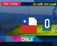 MINUTO A MINUTO: Chile vs. Argentina