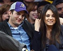 Mila Kunis y Ashton Kutcher se estrenan como padres