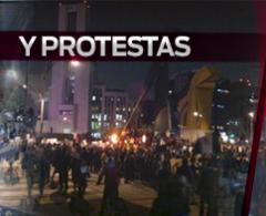 Algunos grupos opacan marchas pacíficas en el país