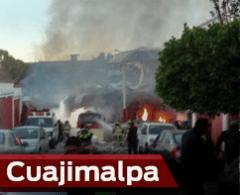 VIDEO: Captan el momento de la explosión desde la torre latino
