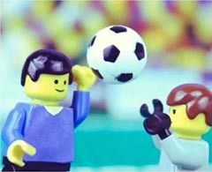 VIDEO: La 'Mano de Dios' recreada por Lego
