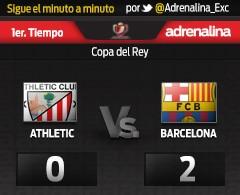 MINUTO A MINUTO: Athletic vs. Barcelona (1er tiempo)