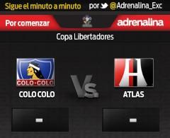 MINUTO A MINUTO: Partido de la Copa Libertadores