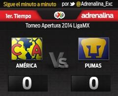 MINUTO A MINUTO: América vs. Pumas