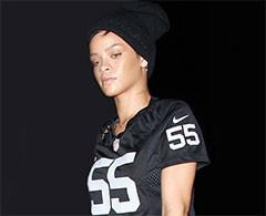 La cantante Rihanna es demasiado salvaje para la NFL