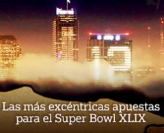 Las más excéntricas apuestas para el Super Bowl XLIX