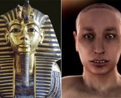 Tutankamón fue fruto de un incesto, revela autopsia virtual