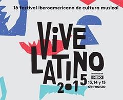 Vive Latino 2015 da a conocer su cartel oficial